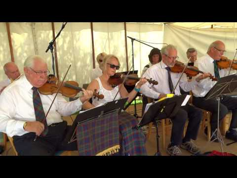 Strathspey And Reel Music Village Fair In Scone By Perth Perthshire Scotland