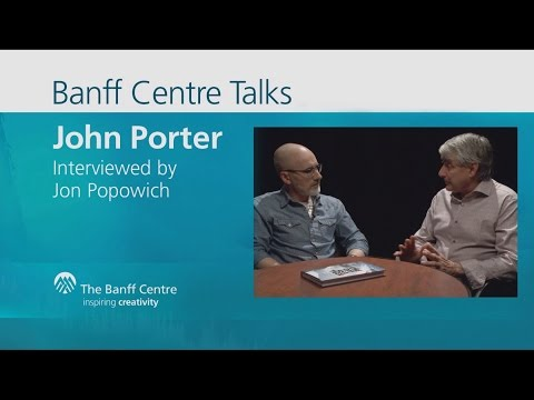 John Porter interviewed by Jon Popowich