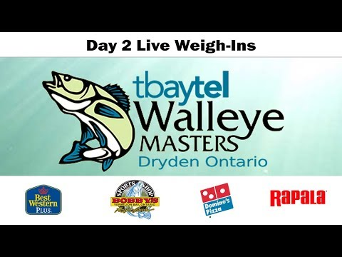 Day 2 Coverage of the tbaytel Dryden Walleye Masters