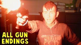ALL GUN's ENDINGS - Life is Strange 2 Episode 3 Wastelands