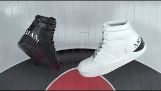 Armani Exchange high-top sneakers YouTube Videos