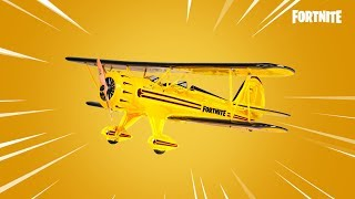 The new AIRPLANE in Fortnite..