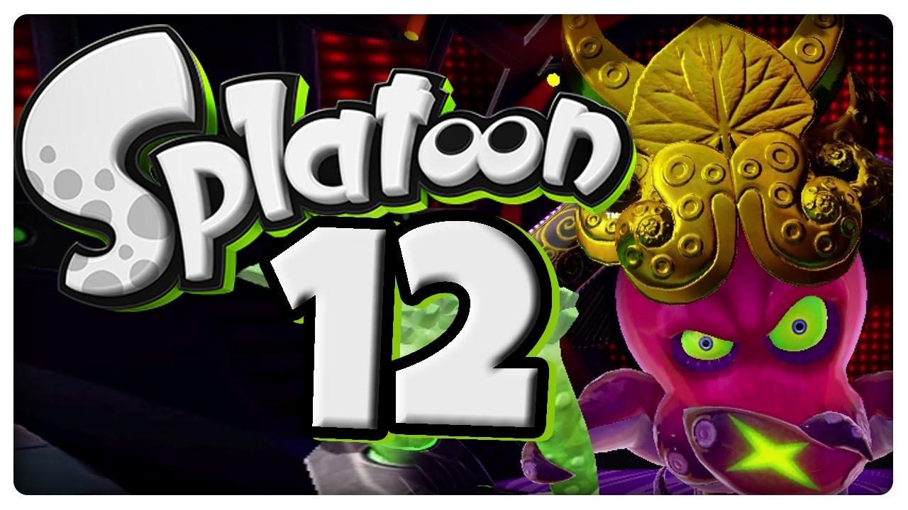 Let S Play Splatoon Part 12 Mega Epischer Final Fight Gegen Dj