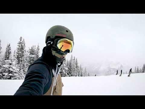 Nakiska   Snowboarding  (GoPro Hero 7 Black Test) Cinematic Hypersmooth