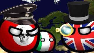 История Европы 1939-1941 годов | Country Balls