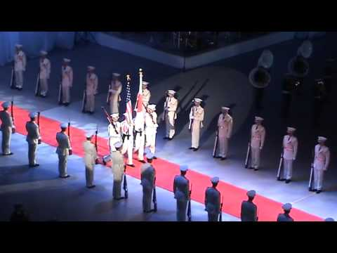"""FINAL FANTASY Main Theme"" JSDF,USMC,USArmy Bands"
