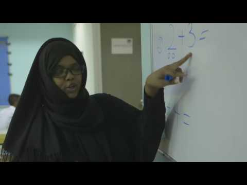 In Malaysia a Somali student proves it's never too late to learn