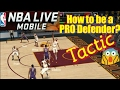 GREAT! Defender NBA Live Mobile