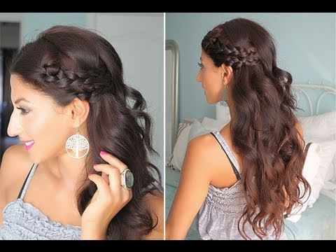 Simple, Braided Summer Hair