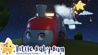 Wheels On The Train | Vehicle Songs for Babies | Kids Songs | New Little Baby Bum
