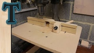 Build a Drill Press Table