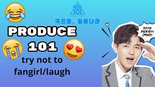 Cover images Produce 101 try not to fangirl/laugh season 2