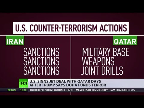 US sells $12bn worth of fighter jets to 'terrorist funder' Qatar