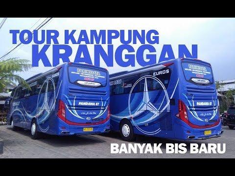 Bus Baru di pakai WISATA!! Tradisi Tour Lebaran Kampung Kranggan