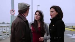"Once Upon A Time 2x10 ""The Cricket Game"" Regina Private conversation go take yourself for a walk"