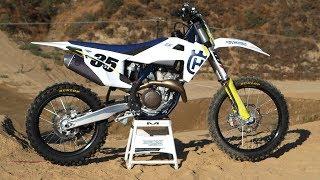 First Ride 2019 Husqvarna FC350 - Motocross Action Magazine