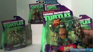 Nickelodeon Teenage Mutant Ninja Turtles BUST IT OPEN!! Action Figure review