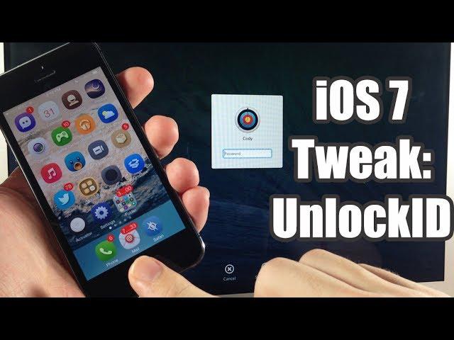 iOS 7 Jailbreak Tweak - UnlockID - Unlock your Mac with TouchID