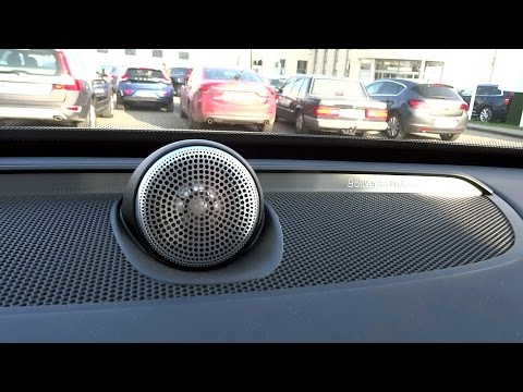 2015 2016 Volvo XC90 B&W Audio Sound System Bowers & Wilkins Speakers Test [ENG] [PL]