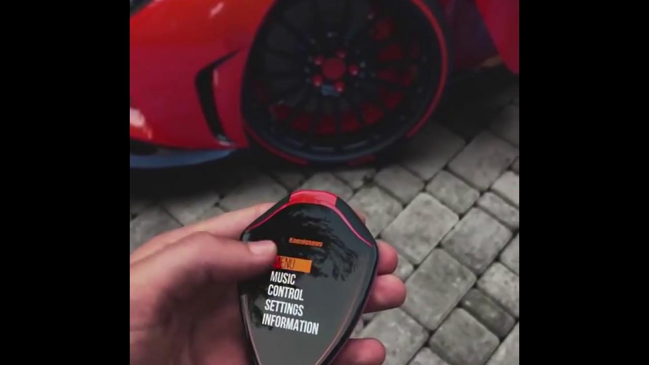 Koenigsegg Regera Concept Key