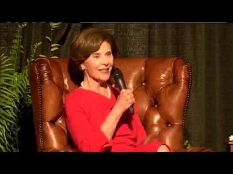 Laura Bush Talks Women's Health, Family, and Texas