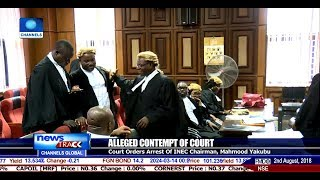 Court Orders Arrest Of INEC Chairman, Mahmood Yakubu