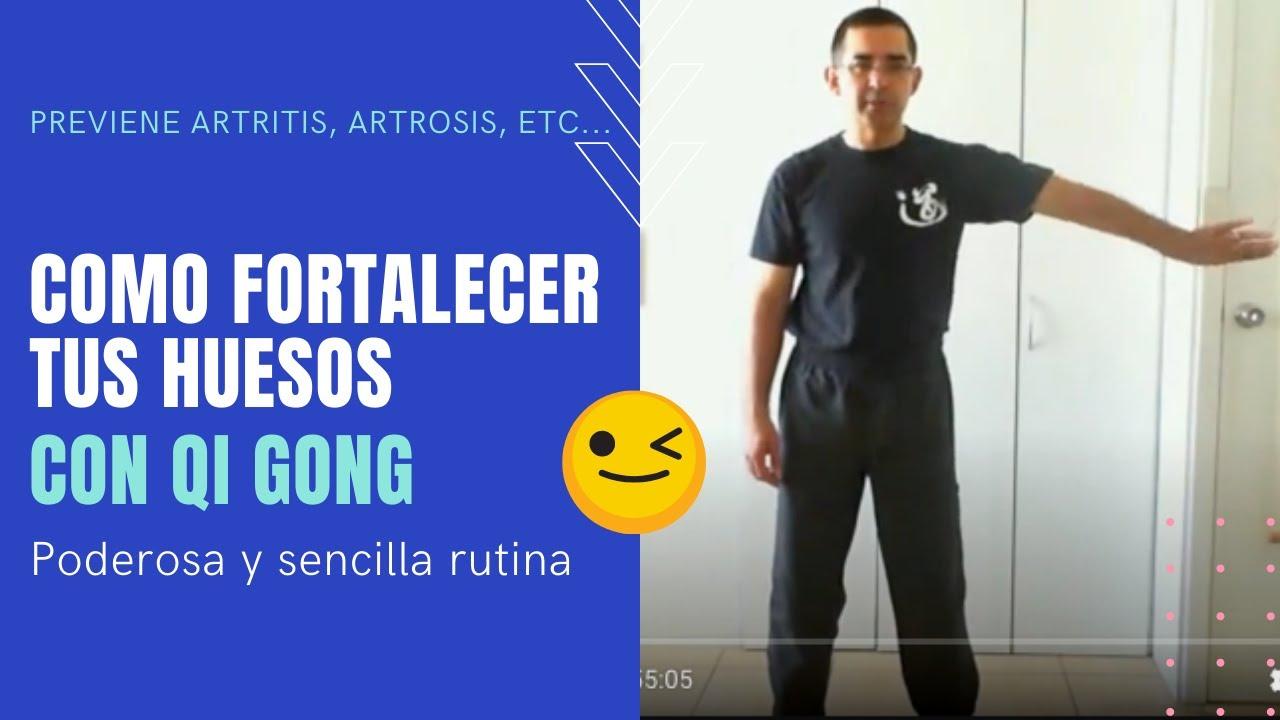 Huesos y Articulaciones Sanos con Qi Gong # 4 - Abriendo y cerrando las articulaciones