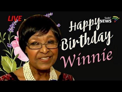 Winnie Madikizela-Mandela's 80th birthday dinner