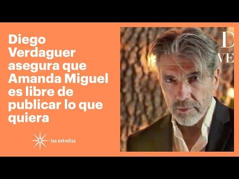 Diego Verdaguer asegura que Amanda Miguel es libre de publicar lo que quiera | Las Estrellas