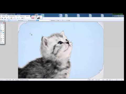 Как сделать картинку на прозрачном фоне