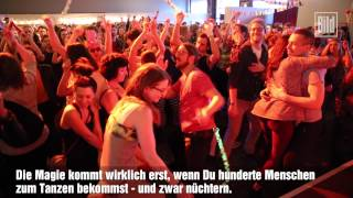 "Gambar cover Early-Bird-Party! DJ ""Alle Farben"" rockt ""Morning Gloryville"" in Berlin"