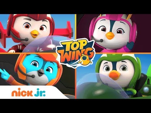 Meet Top Wing Characters Swift, Penny, Rod, & Brody 🐧 🐤 🐦  | Nick Jr.
