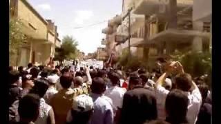 قارة - المظاهرات في جمعة العشائر جديد - 10\06\2011 ج1