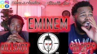 EMINEM KILLSHOT [Official Audio]  MGK DISS!!! * LIT REACTION* | YBC ENT.