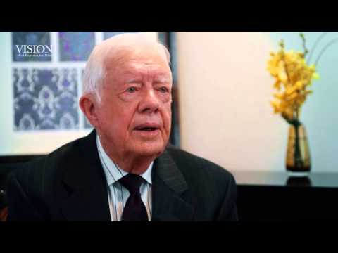 President Jimmy Carter on fighting tropical diseases