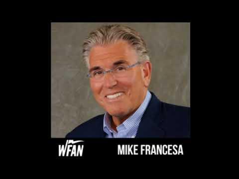 Mike Francesa-Cliff Floyd,Darryl Strawberry,Gov Christie,Michael Breed,Bob Costas,Jay Wright,more