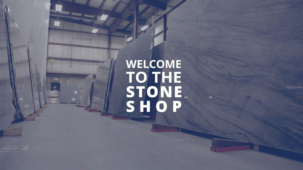 In-house stone shop - Portland, Maine - Paul White Company