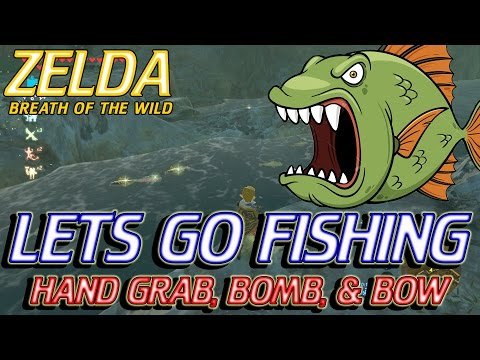 Zelda Breath of the Wild - Fishing Guide