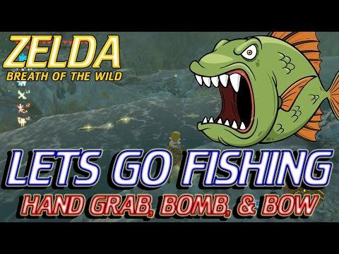 Zelda Breath Of The Wild - Fishing Guide