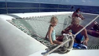 Cuba, Holguin, Catamaran net