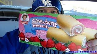 Reed Reviews - Little Debbie Strawberry Shortcake Rolls