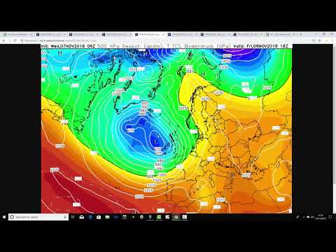 Five Day Weather Forecast: 7th To 12th November 2018