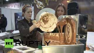 Russia: Sweet 3D Printer Uses Chocolate As Ink