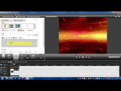 CĐ Thực hành FPT-PH00980-Cách chèn chữ và ảnh vào video của camtasia studio7.wmv