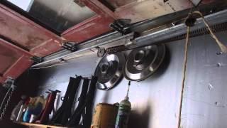 Adjusting Garage Door Springs And Things