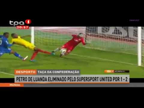 SuperSport United 2 X 1 Petro de Luanda  2ª  Mao