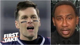 Stephen A. reacts to Tom Brady's comments on leaving the Patriots for the Bucs | First Take