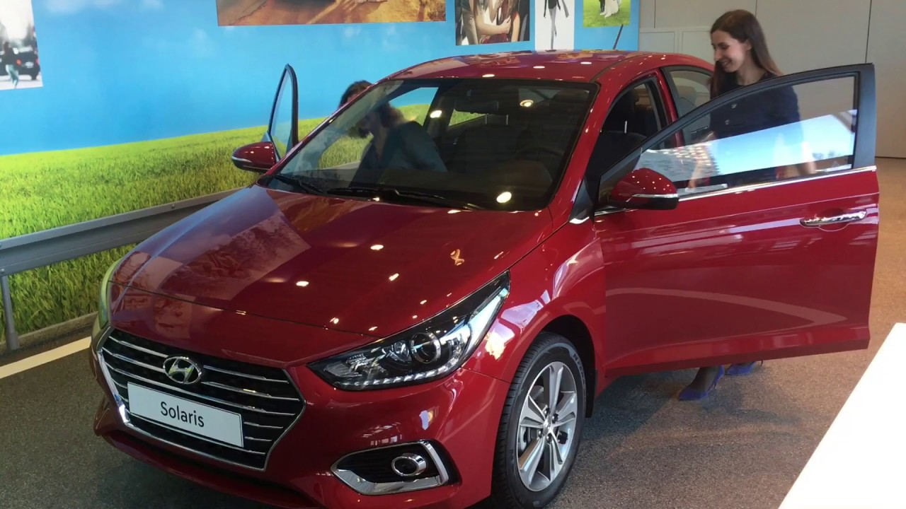 2017 NEW Hyundai Solaris (Hyundai Verna) - YouTube