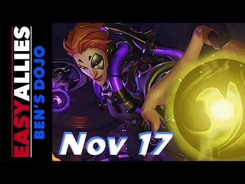 Ben's Dojo (Nov 17, 2017) - Overwatch