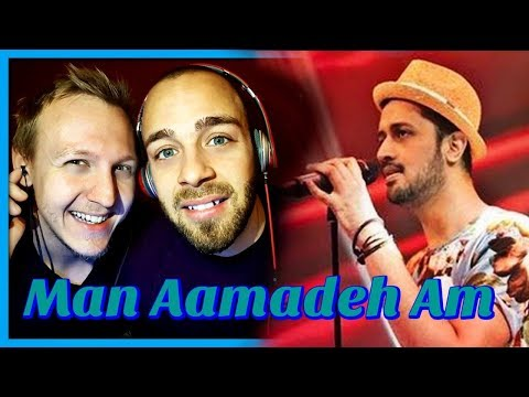 Gul Panrra & Atif Aslam, Man Aamadeh Am, Coke Studio, Season 8, Episode 3 | Reaction by RnJ